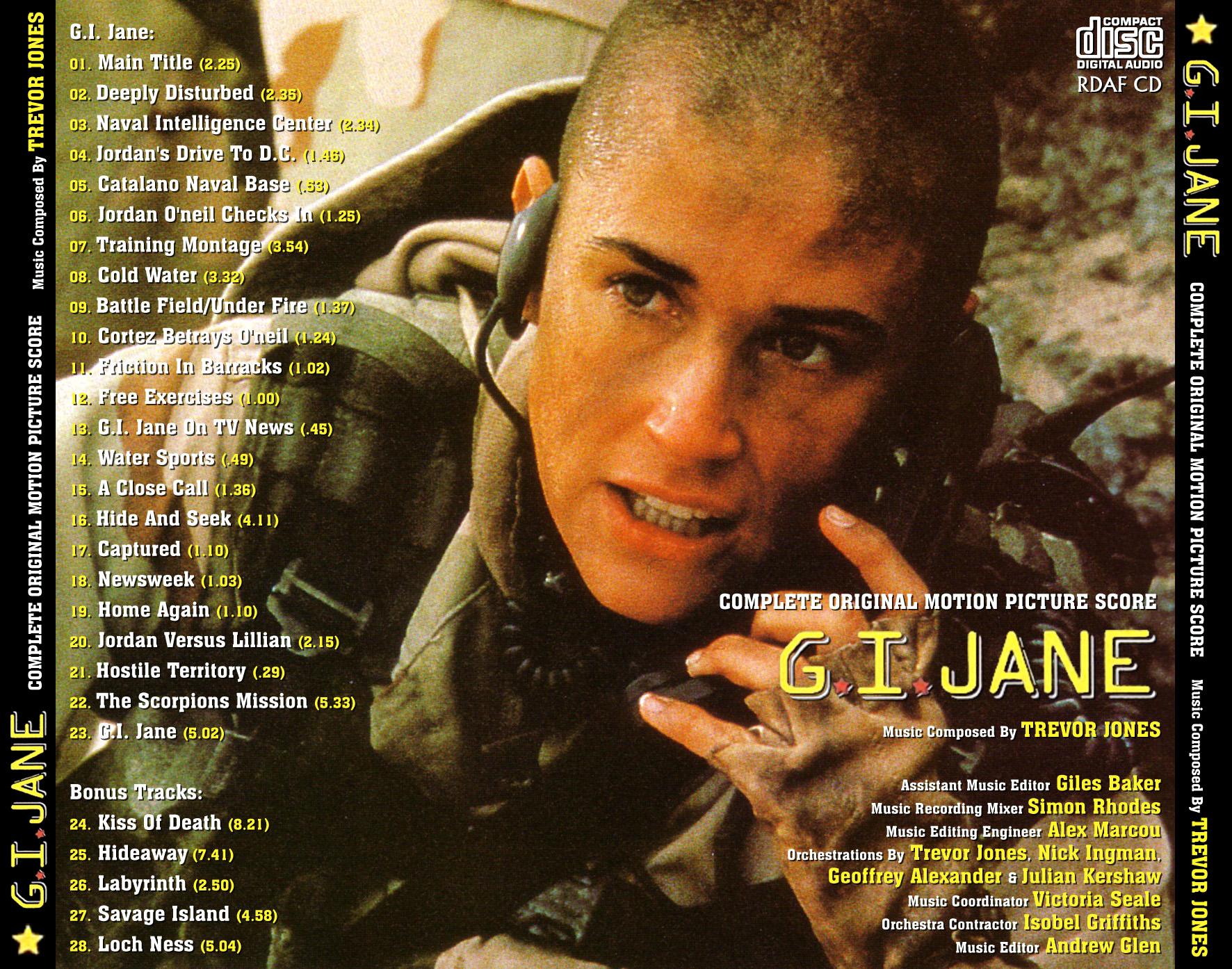 Bądź jak G.I.Jane i nie strasz ludzi w kolejce