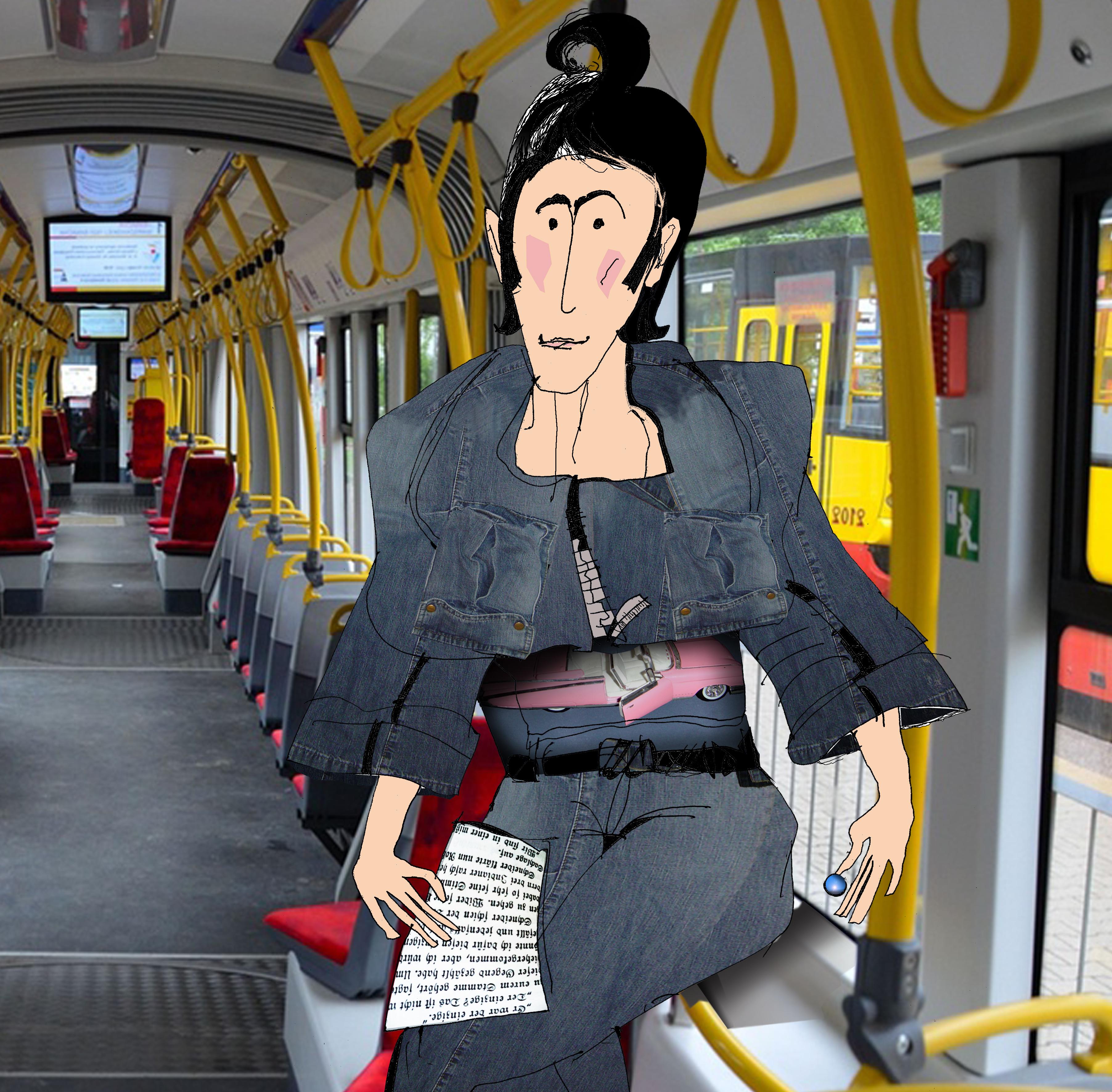 kuba w tramwaju