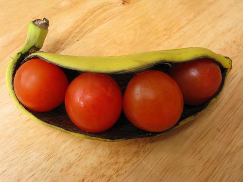 banan and tomato
