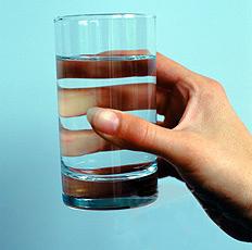 szklai ręka